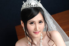 Angelia Mizuki Is My Wife: Pretty Tits Under Wedding Dress  Angelia Mizuki